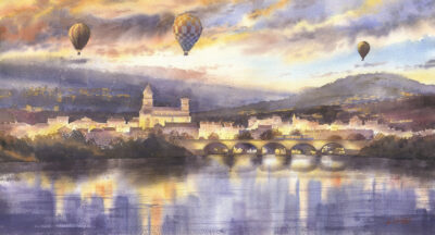 Grzegorz Wróbel - Brioude panorama