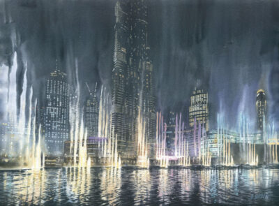 Grzegorz Wróbel - Dubai nights