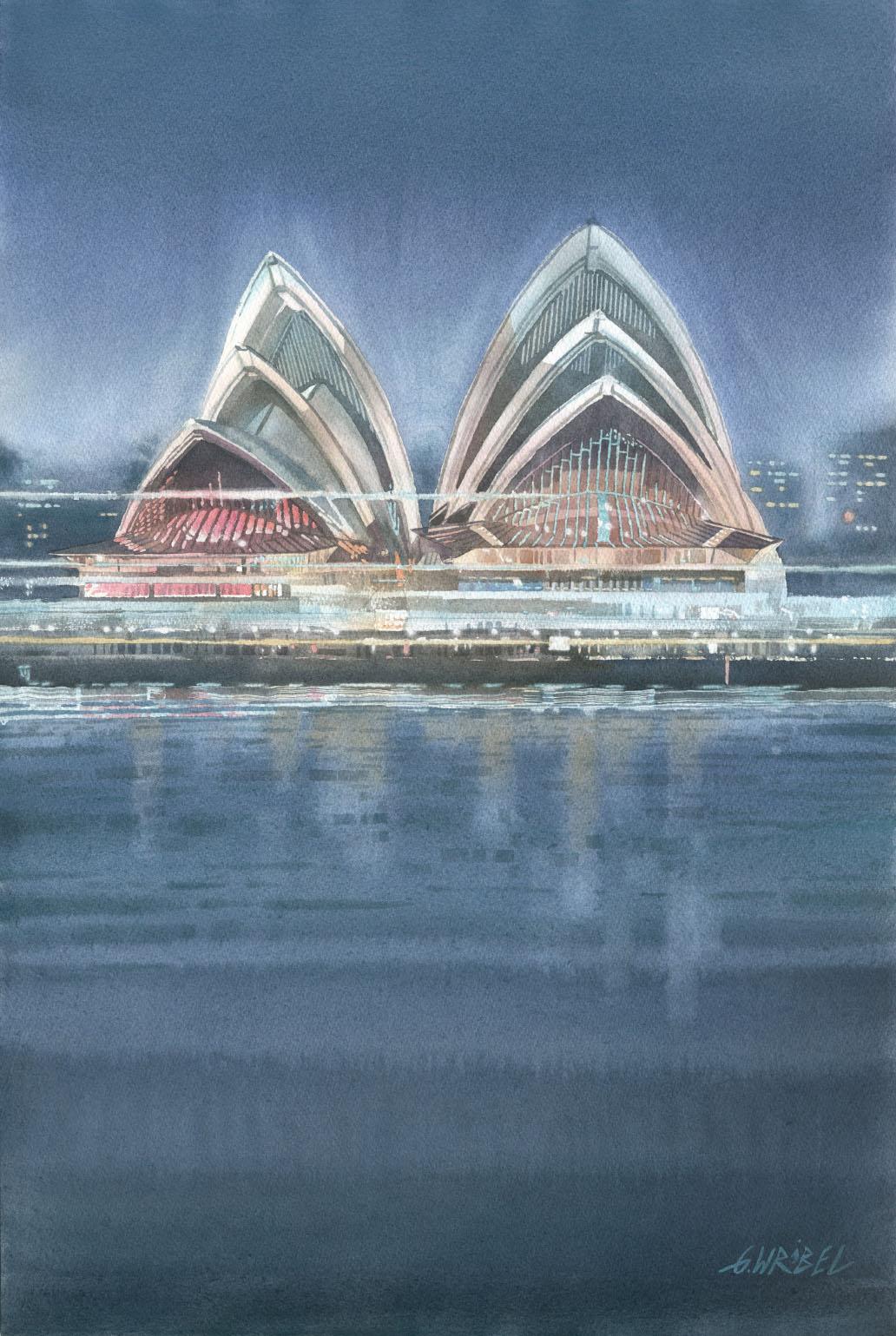 Grzegorz Wróbel - Sydney nocą