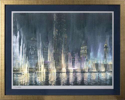 Grzegorz Wróbel - inkografia Dubai nights