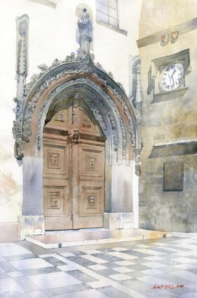 Portal w Pradze