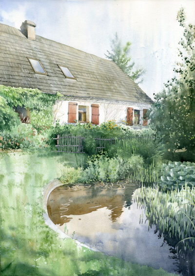 Pyzdry ogród