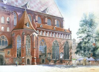 Wrocław Kościół Garnizonowy Św. Elżbiety