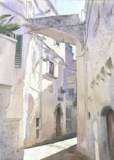 Zagubiona uliczka w Cisternino