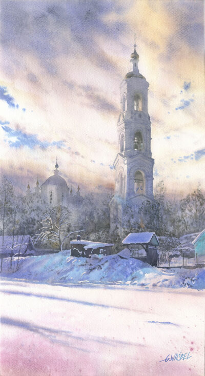 Zimowa dzwonnica