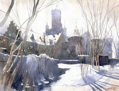 Zimowe fortyfikacje