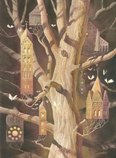 Grzegorz Wróbel - Drzewo z brązu
