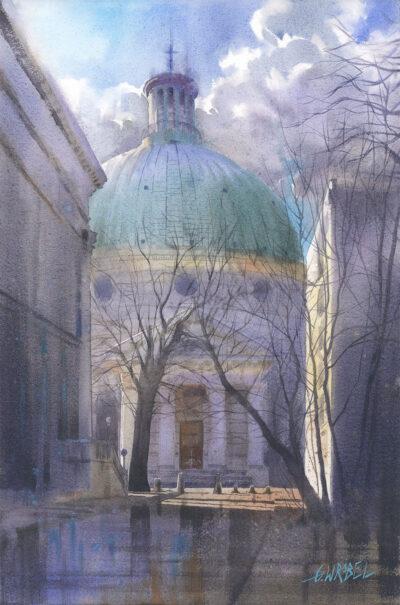 Grzegorz Wróbel - Z widokiem na kościół Św. Trójcy