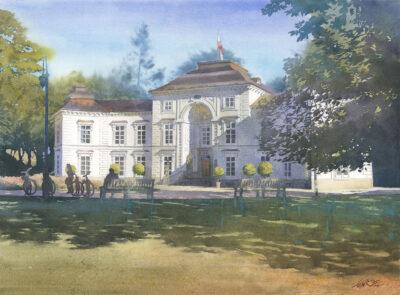 Grzegorz Wróbel - Pałac Myślewicki