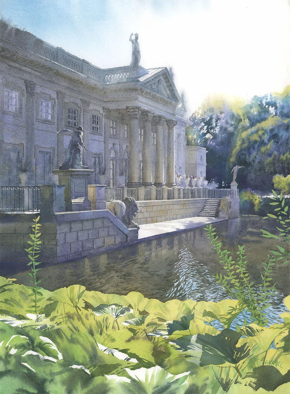 Grzegorz Wróbel - Pałac na wodzie
