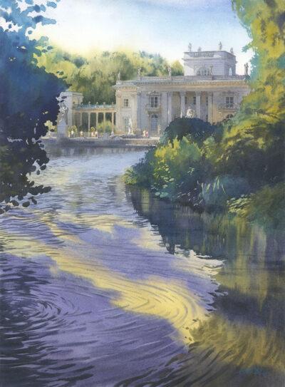 Grzegorz Wróbel - Spojrzenie na Pałac na Wodzie